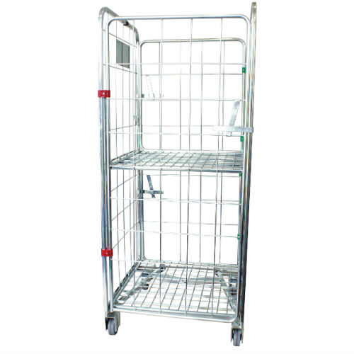 4 Sided A-Frame Laundry Cage - Master Equipment Services